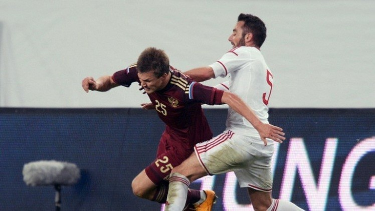 المنتخب الروسي يستفيق وديا ويهزم المجر بصعوبة