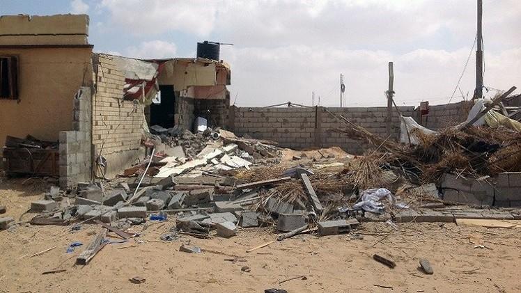 مصر.. مقتل 10 مدنيين بينهم نساء وأطفال في سيناء