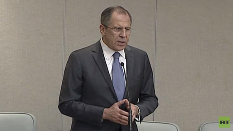 لافروف: الأزمة الأوكرانية نتيجة لسياسة الغرب