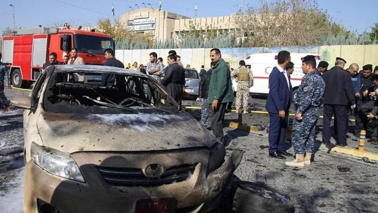 مقتل وإصابة 35 شخصا بتفجير سيارة مفخخة في أربيل شمال العراق (فيديو)