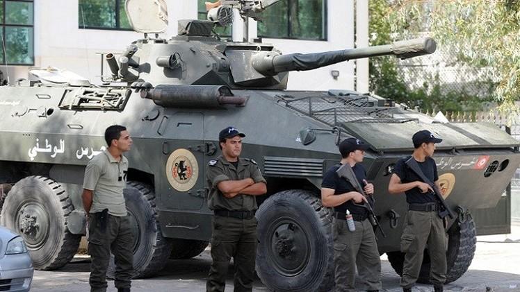 مقتل مسلح وإصابة عنصر أمن تونسي في سيدي بوزيد