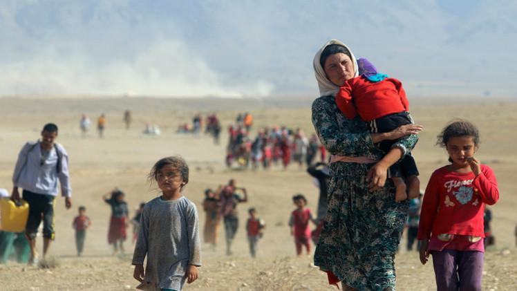 وفاة 18 طفلا عراقيا جراء الإعياء والجوع الشديدين