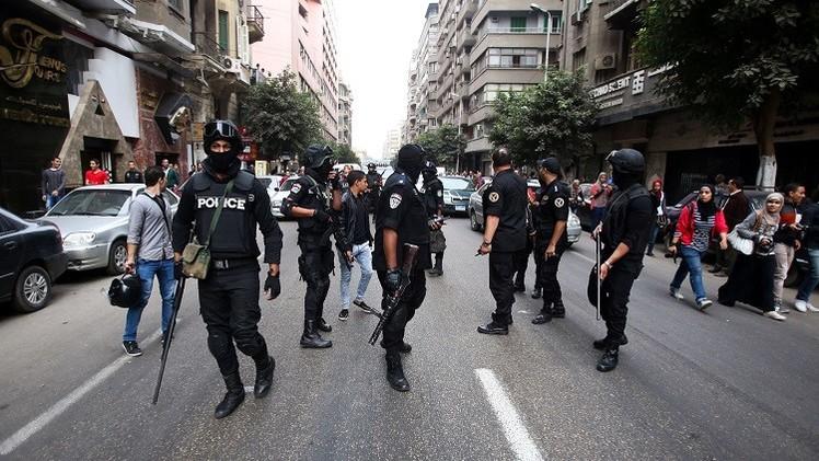تفريق تظاهرة في القاهرة خرجت لإحياء ذكرى ضحايا احتجاجات 2011