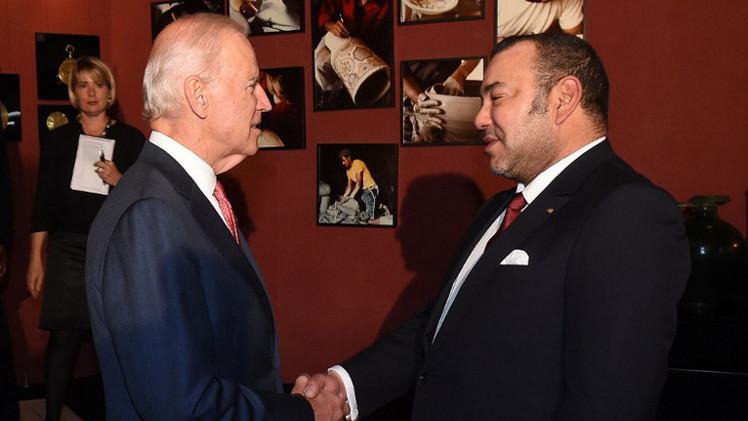 بايدن يبحث مع ملك المغرب قضية مواجهة التطرف
