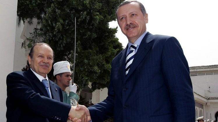 تركيا والجزائر تشددان على وحدة العراق والمصالحة الفلسطينية ورفض التدخل الأجنبي في ليبيا
