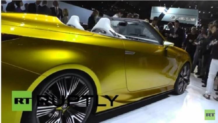 بالفيديو.. ليكسوس تقدم سيارتها المستقبلية الفاخرة من طراز LF-C2