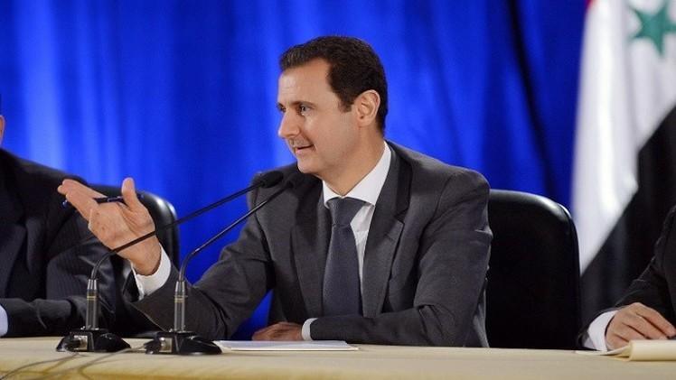 الأسد يدعو إلى