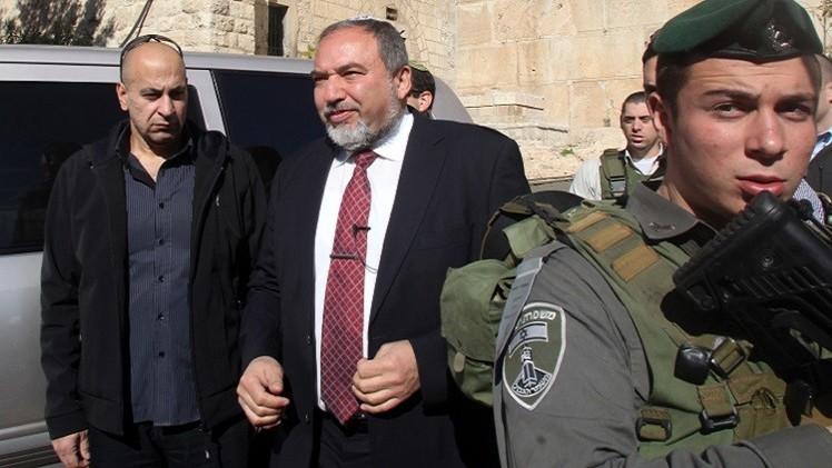 إسرائيل تتهم حماس بتدبير خطة لاغتيال ليبرمان في الضفة الغربية