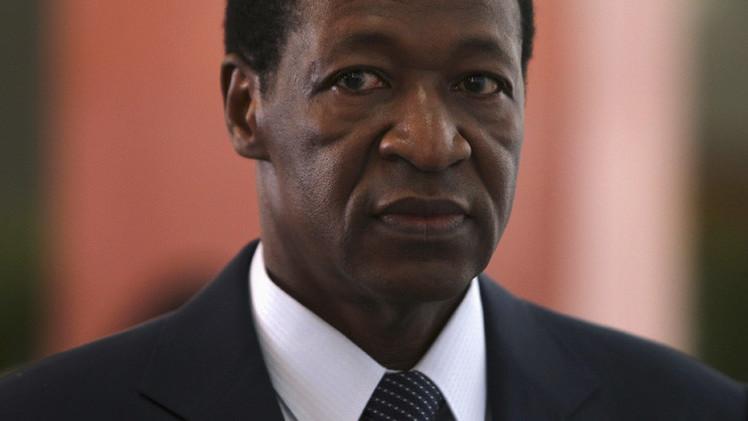 رئيس بوركينا فاسو السابق يصل إلى المغرب