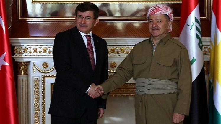 داود أوغلو من أربيل: أمن العراق هام وحيوي بالنسبة لتركيا
