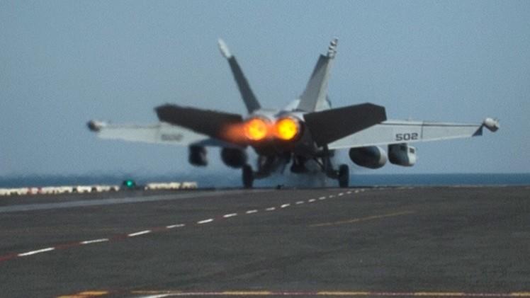الولايات المتحدة الأمريكية وحلفاؤها يشنون 30 غارة على تنظيم الدولة الإسلامية