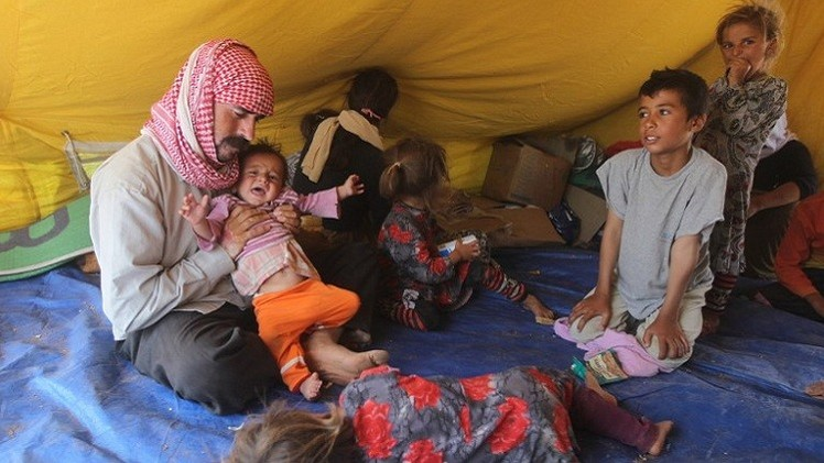 الأمم المتحدة تنقل مساعدات للنازحين العراقيين