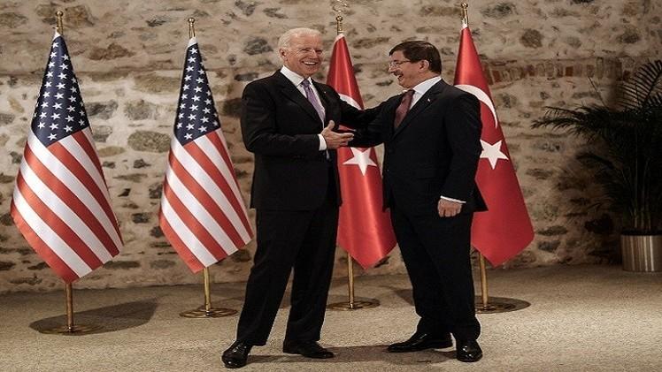 بايدن يصل إلى أنقرة لبحث دور أكبر لتركيا في الحرب ضد تنظيم