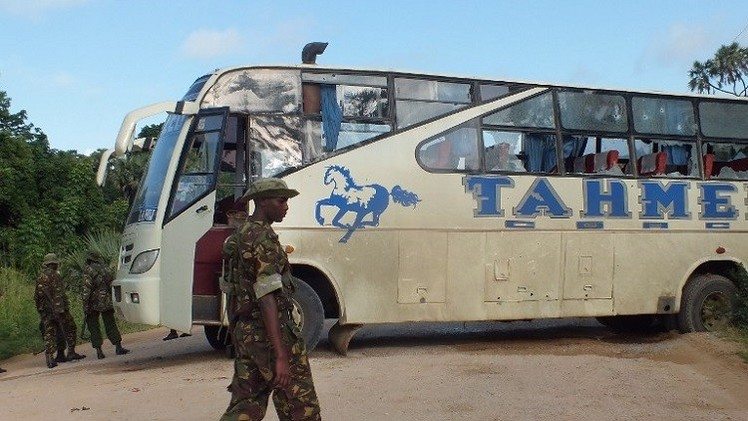 مقتل 28 كينيا على يد مسلحين قرب الحدود الصومالية