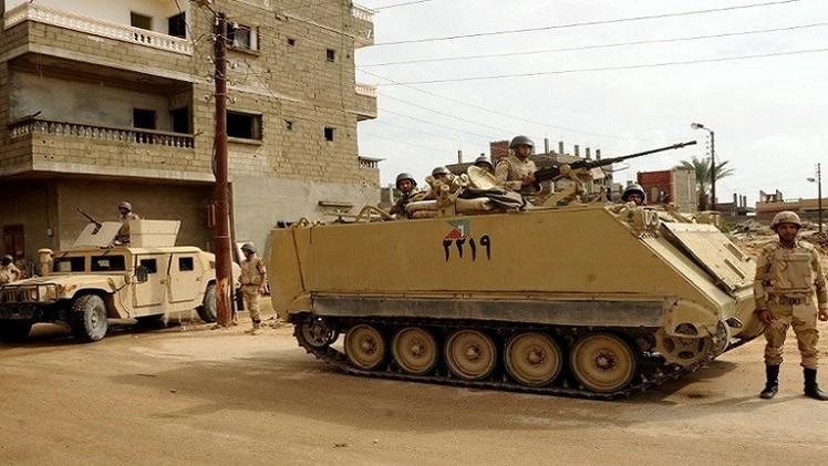 الجيش المصري: مقتل 7 مسلحين واعتقال 67 شمال سيناء