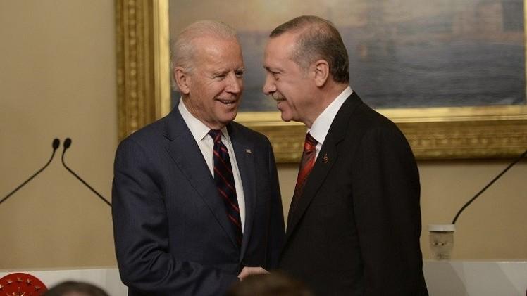 بايدن: ناقشت مع أردوغان محاربة