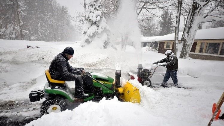 التحذير من فيضانات وشيكة في نيويورك بسبب ذوبان الثلوج