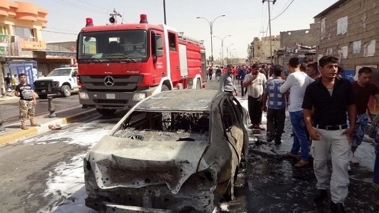 مقتل 7 أشخاص بتفجير سيارة في سوق اليوسفية بالعراق