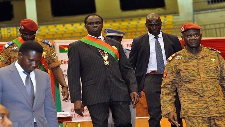 حكومة انتقالية في بوركينا فاسو