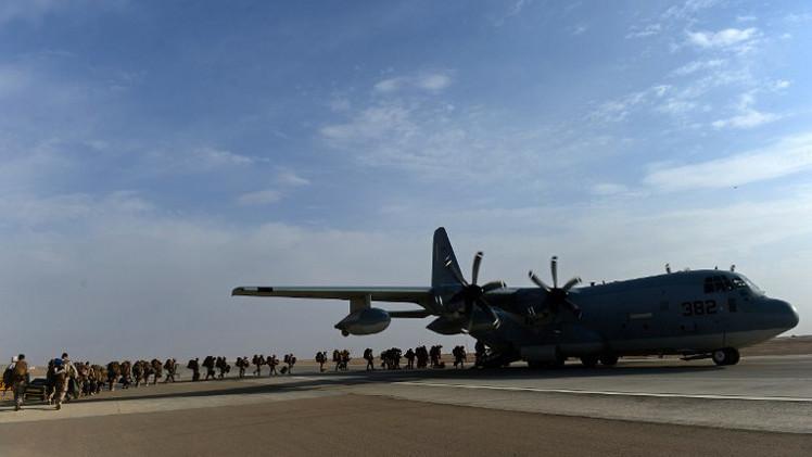 العسكريون التقنيون البريطانيون يغادرون أفغانستان