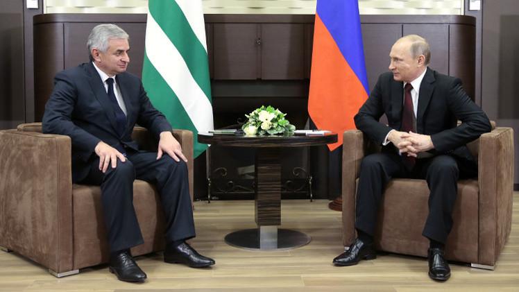 معاهدة للتعاون والشراكة الاستراتيجية بين روسيا وأبخازيا
