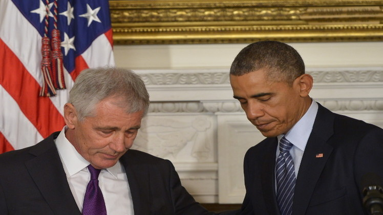 تشاك هيغل وإدارة أوباما.. من ترك الآخر؟
