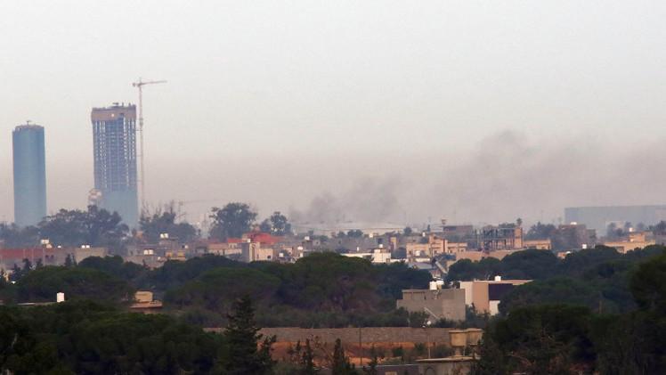 أنقرة تدين قصف الحكومة الليبية مطار طرابلس الدولي