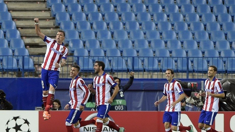 ماندزوكيتش يهدي أتلتيكو مدريد التأهل للدور الثاني من دوري أبطال أوروبا
