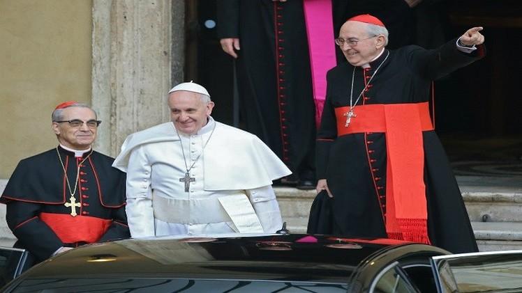 البابا فرنسيس يندد بالعنف المرتكب باسم الكيان الإلهي