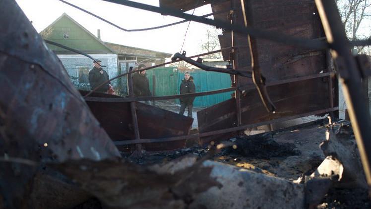 مقتل 13 شخصا بقصف للقوات الحكومية الأوكرانية قرب دونيتسك