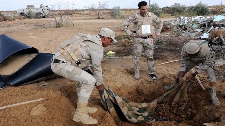 مقتل 5 إرهابيين في تبادل لإطلاق النار مع قوات الامن في سيناء