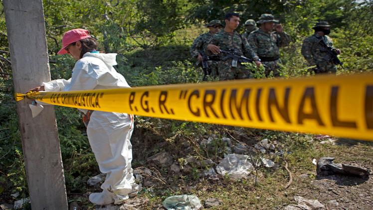 العثور على 11 جثة مشوهة في المكسيك