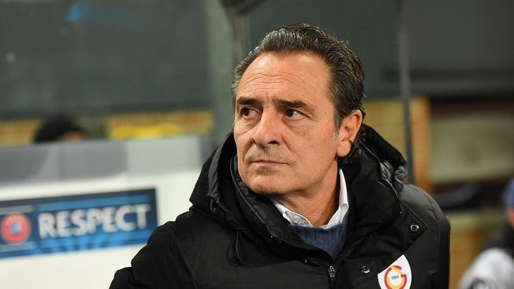 غلطة سراي يقيل مدربه الإيطالي برانديلي