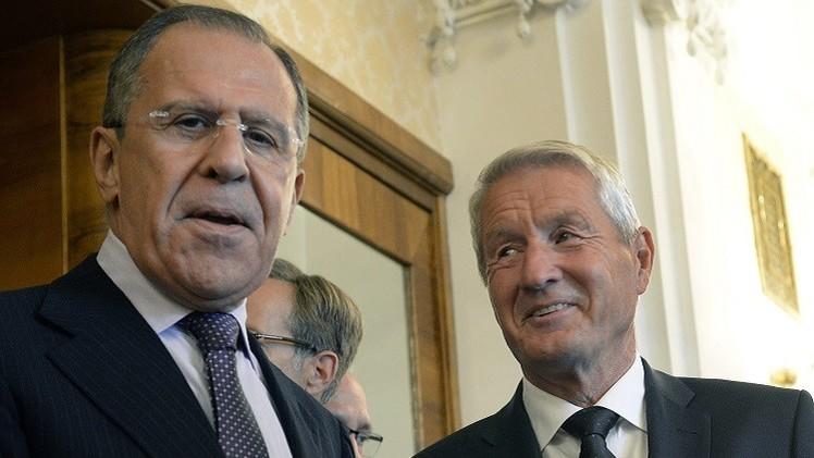 الأمين العام لمجلس أوروبا يبحث في موسكو الأزمة الأوكرانية