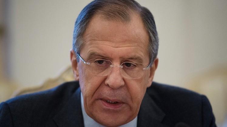 لافروف: لا صلة للعقوبات ضدنا بوقف التصعيد في أوكرانيا