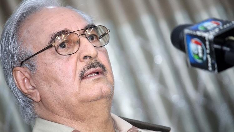 حفتر: معركة طرابلس لا تزال في بدايتها