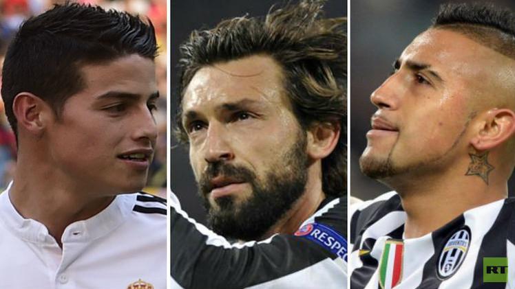 6 لاعبين من يوفنتوس وريال مدريد في قائمة المرشحين لأفضل لاعبي خط الوسط