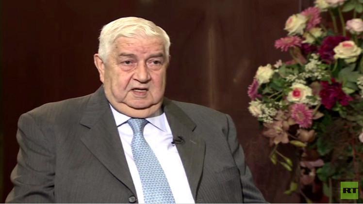 المعلم لـRT:  دمشق ستلتزم بمبادرة دي ميستورا بعد الحصول على ضمانات
