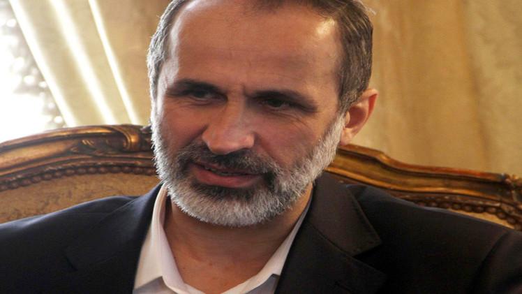 الخطيب: ردود فعل إيجابية من داخل المعارضة السورية بشأن مباحثاتي في موسكو