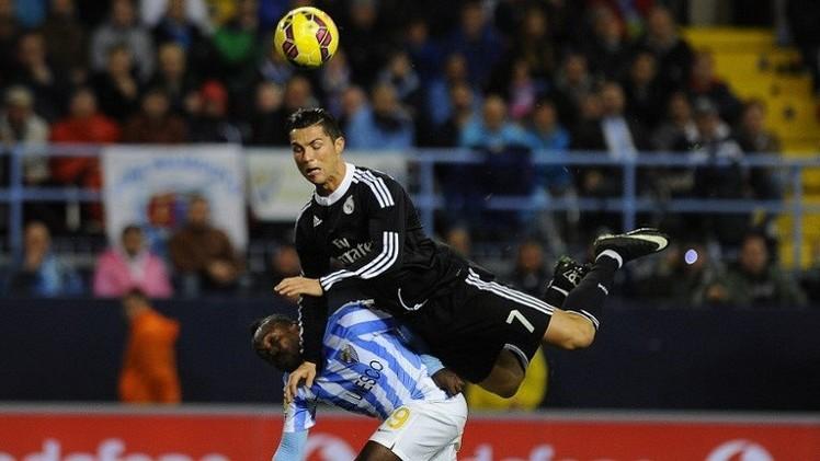 رقم قياسي جديد لريال مدريد بعد إلحاقه الهزيمة الأولى بملقا على أرضه