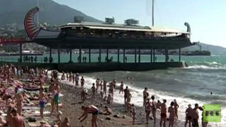 تشجيع السياحة في القرم