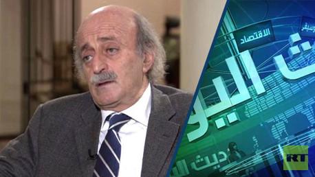 رئيس الحزب التقدمي الاشتراكي في لبنان النائب وليد جنبلاط