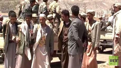 عدد من جماعة الحوثي في اليمن