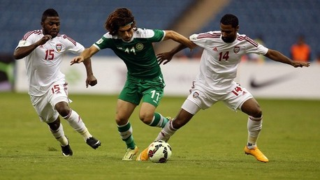 مباراة العراق والإمارات