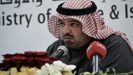 وزير العدل والشؤون الإسلامية والأوقاف الشيخ خالد بن علي آل خليفة
