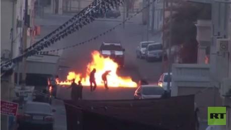 اشتباكات تندلع في البحرين على خلفية مقاطعة الانتخابات