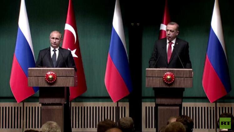روسيا نحو زيادة واردات الغاز الطبيعي إلى تركيا