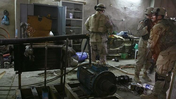 الجيش العراقي يستعيد السيطرة على مخازن تحتوي على بقايا  أسلحة كيميائية