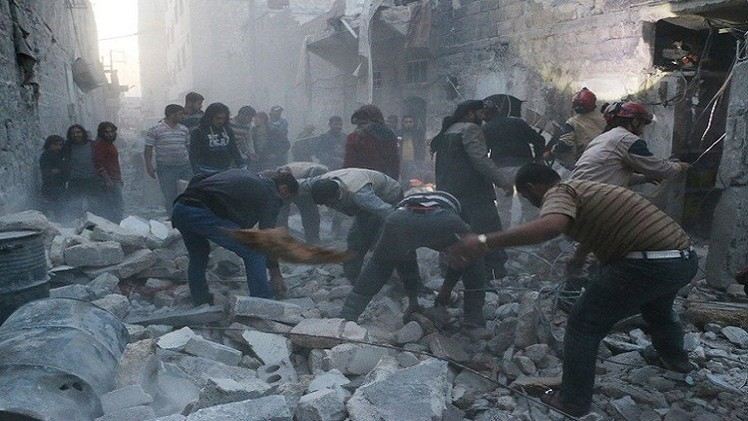 نشطاء: حصيلة قتلى الحرب في سوريا تجاوزت 200 ألف