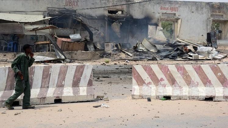 4 قتلى في انفجار استهدف موكبا أمميا قرب مطار مقديشو